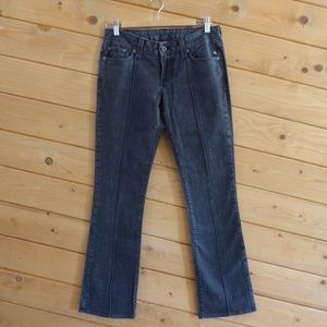 Lucky Brand Black Suzanne Slim Straight Jeans 4/27